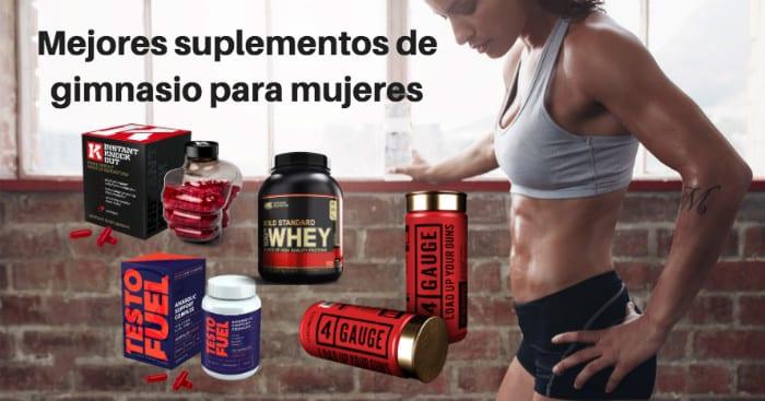 Mejores suplementos de gimnasio para mujeres